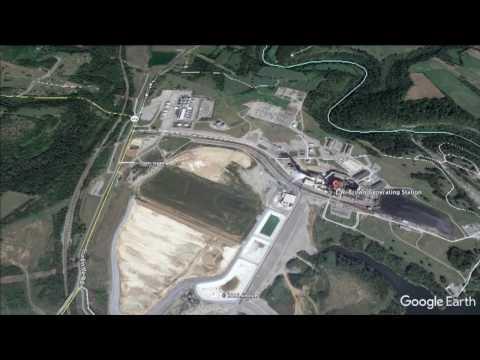 EW Brown Generating Station-Google Earth Satellite Map