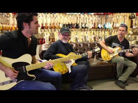 Funky Trio: Tim Pierce, Pete Thorn & Mark Lettieri at Norman's Rare Guitars