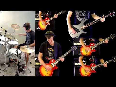 Ghost – Slash – Guitar Bass Drum Cover
