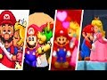 Evolution of Mario getting kissed by Princess Peach & More (1990 - 2018)