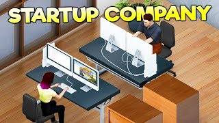 GET RICH BY GROWING AND MANAGING A HUGE SOFTWARE COMPANY! - Startup Company Early Access Gameplay