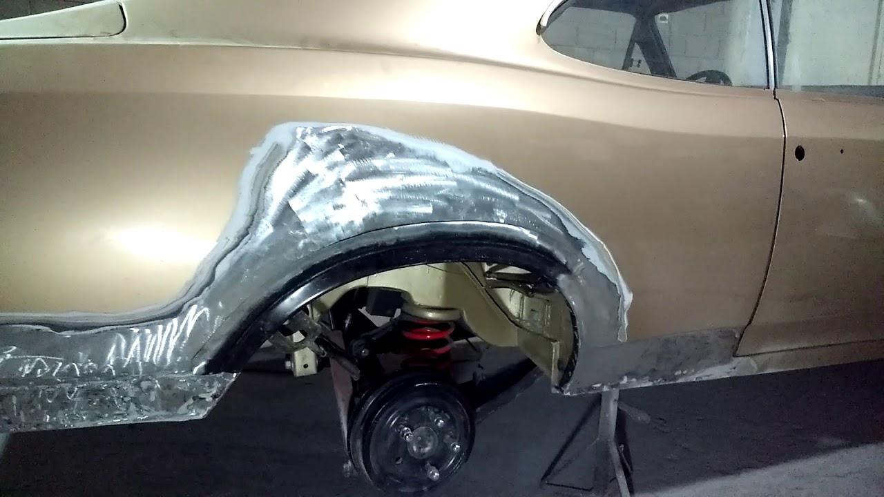 #96 dica de reparo em paralama interno traseiro do Opala.