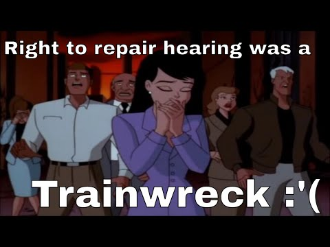 Right To Repair Hearing At Nebraska State Legislature(edited, commentary)
