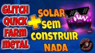 Fortnite Save the world-BUG/Glitch SOLAR MISSIONS WITHOUT BUILDING ANYTHING & QUICK Farm metal (MIME)