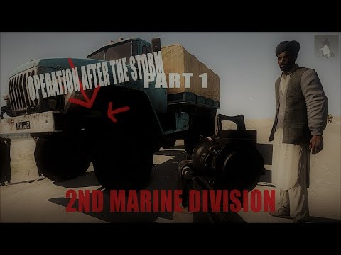 Operation After the Storm Pt 1 | 2nd Marine Division Realism (HBG)