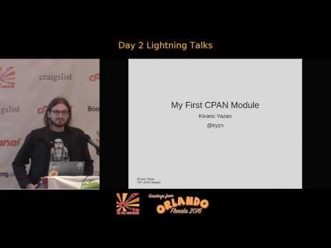 2016 - Tuesday Lightning Talks