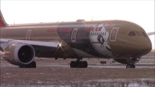 A Chilly Winter Afternoon of Plane Spotting at Toronto Pearson Airport: RWY 23/24R Landings/Takeoffs