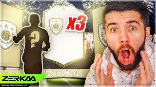 3 PRIME ICON MOMENTS IN 10 MINUTES! (FIFA 20 Pack Opening)