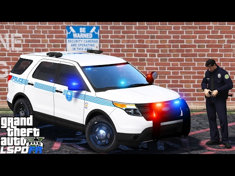 GTA 5 LSPDFR Police Mod 372 | City Of Miami Police Department | Automatic License Plate Reader