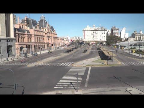 Argentina paralizada por huelga general contra acuerdo con FMI
