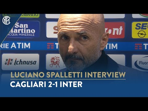 "CAGLIARI 2-1 INTER | LUCIANO SPALLETTI INTERVIEW: ""We need to respond to these difficulties"""