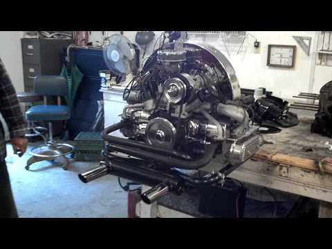 1600cc VW Engine with 100 cam and GT exhaust