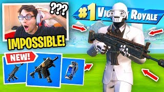 I can ONLY Use HENCHMAN Weapons in Season 2 Fortnite... (literally impossible)