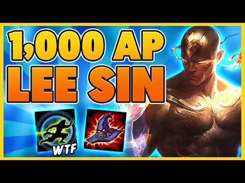 *HILARIOUS* LEE SIN IS AN AP ASSASIN (INSANE SHIELDS) - BunnyFuFuu