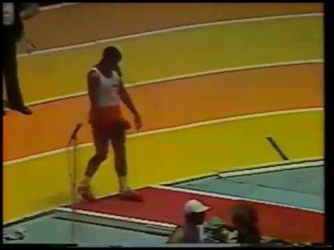 Carl Lewis, 1983 Millrose Games, 8.52,  8.54, 8.36