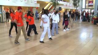 Flashmob Skills Masters in winkelcentrum Zuidplein