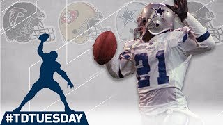 Every Deion Sanders Pick 6! | #TDTuesday | NFL Highlights