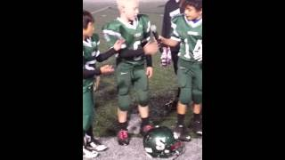 Sheldon mighty mites football players 2015 undefeated