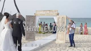 """Halleluya"" at the Kukua Wedding ceremony"