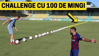 CHALLENGE IMPOSIBIL CU 100 DE MINGI vs Bogdan IBMFamily (cate am marcat din 100?) IMPROVED FOOTBALL