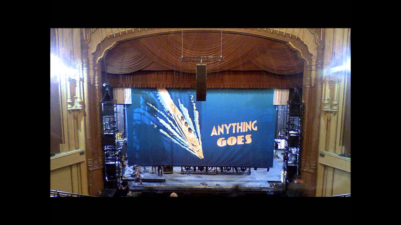 Anything Goes Sails In To The Shn Golden Gate Theatre