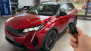 New 2021 Peugeot 3008 Gt (181ps) facelift interior-exterior review