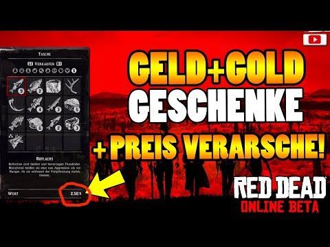 😤Rockstar Schenkt Uns Geld + Gold + Verarscht Uns!😤 [Red Dead Online Patch News]
