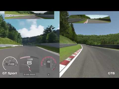 gran turismo sport vs gran turismo 6 comparison. Black Bedroom Furniture Sets. Home Design Ideas
