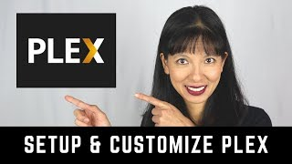 how to Setup PLEX Media Server and Customize Artwork