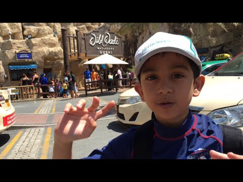 Wild Wadi Waterpark Dubai - Dubai Holiday vlogs