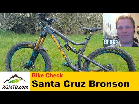 Bike Check - Santa Cruz Bronson V1 Carbon (2014) MTB