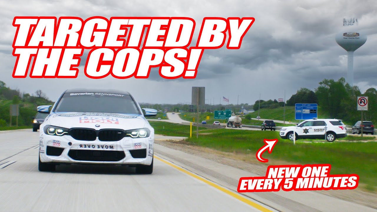 HUNTED By The ENTIRE Sheboygan Police Force! *COP EVERY 5 MINUTES*