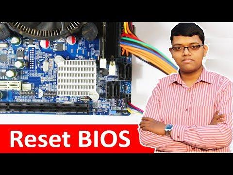 Reset Bios & Reset Bios Password With CMOS Jumpers