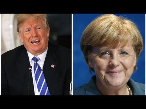 Merkel risks wrath of trump as germany's trade surplus with us widens again