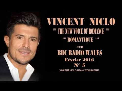 """Vincent Niclo: """" Love Story """" ,"""" How do you keep the music playing"""" sur BBC Radio Wales"""