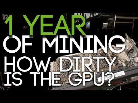 1 Year of GPU Mining, How Dirty Is The GPU?