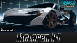 Need For Speed No Limits: McLaren P1 (MAXXED OUT + Tuning [All Black Edition Parts])