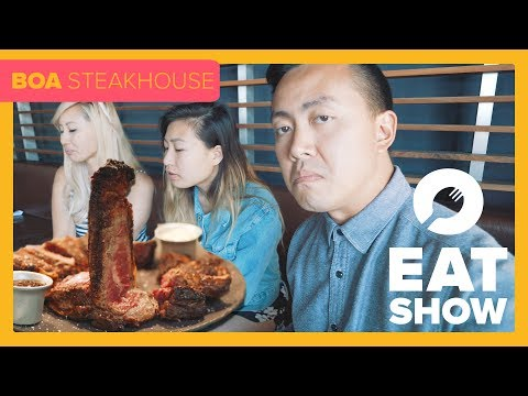 Vegan Better Than Steak?! - Eat Show Presents: BOA Steakhouse S2 E4