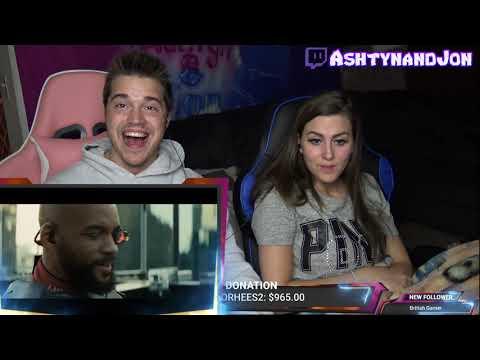 Deadshot Introduction  Batman vs Deadshot  Suicide Squad  Movie Clip - REACTION