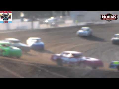 Nodak Speedway IMCA Stock Car Heats (Motor Magic Night #2) (9/2/18)