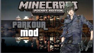 PARKOUR MOD PARA MINECRAFT PE 0.14.0•mods para minecraft pe 0.14.0