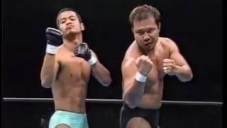 Daisuke Ikeda & Takeshi Ono vs. Alexander Otsuka & Satoshi Yoneyama (Inoki Festival 1996)