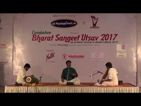 Manimaran l Tamizh Paamalai l Bharat Sangeet Utsav 2017 l Coimbatore