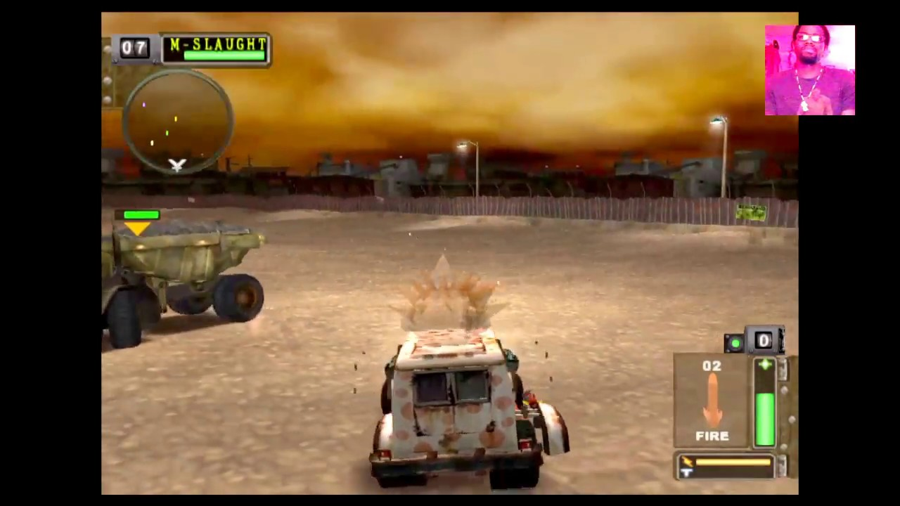 twisted metal black gameplay on ps4 youtube