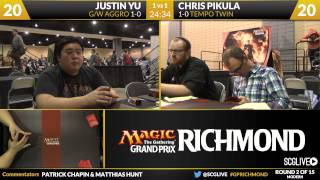 GPRichmond - Round 2 - Chris Pikula vs Justin Yu