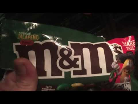 Jake Dill - Mexican Jalepeno M&Ms????