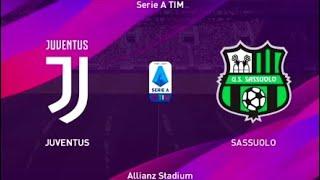 Juventus Fc X Us Sassuolo   Calcio Serie A Tim   Allianz Stadium - Pes 2020