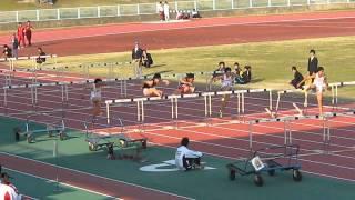 2012東海学生陸上春季 男110mH予選2