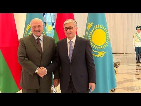Смотреть Лукашенко о Казахстане: Даже в жесточайшие времена мы были вместе! Встреча Токаева и Лукашенко. ЕАЭС онлайн