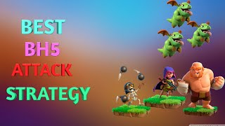 How to attack builder base 5 [Bh5] Attack Strategy/ Coc builder hall 5 Attacks | Clash of Clans